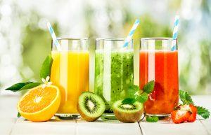 果汁が影響する