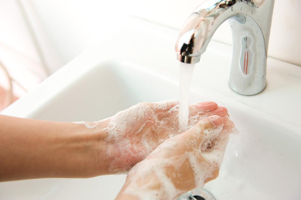 手洗い画像